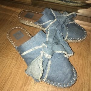Blue Jean/Denim Slip-ons.